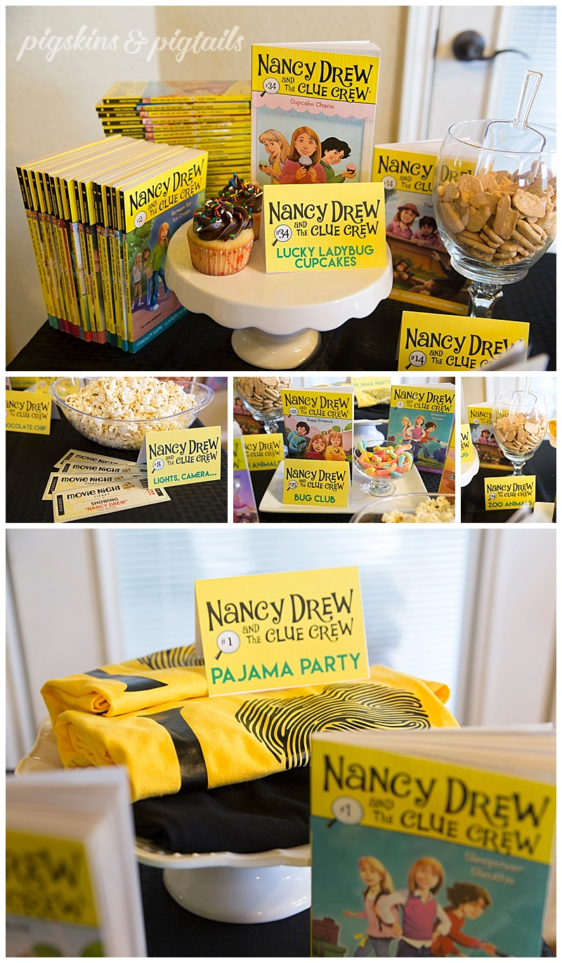 Nancy Drew party theme
