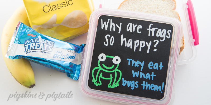 Lunch Box Joke Chalk Marker