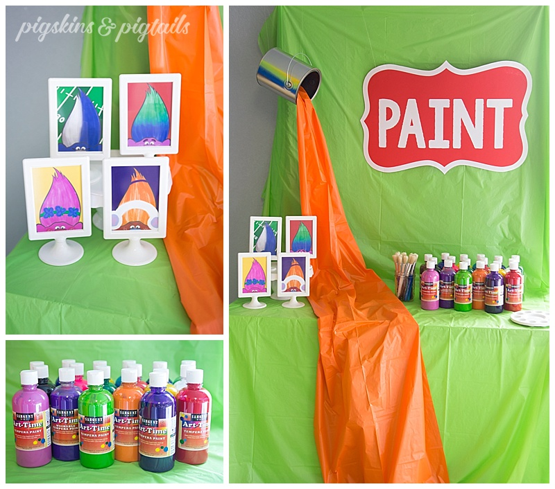 Painting Party Birthday Theme