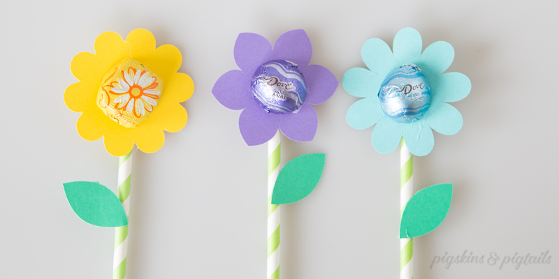Chocolate Flower Bouquet with DIY Cut File