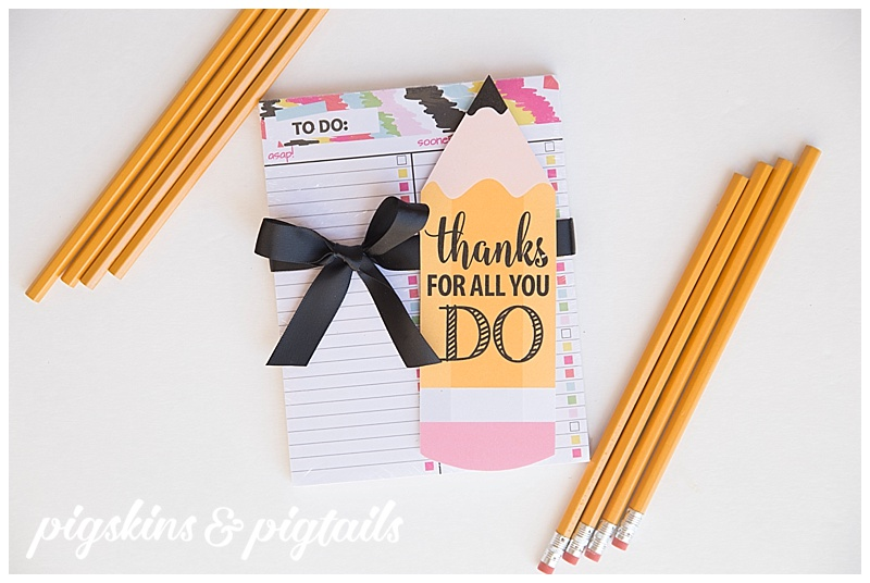 Useful Practical Teacher Appreciation Gift Idea