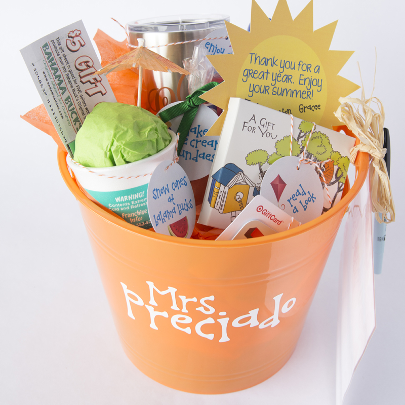 Summer Bucket List Gift Idea for Teachers