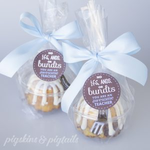 Nothing Bundt Cakes Teacher Appreciation Gift