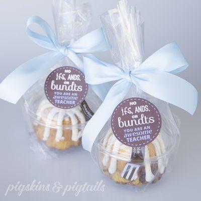 Nothing Bundt Cakes Teacher Appreciation Gift