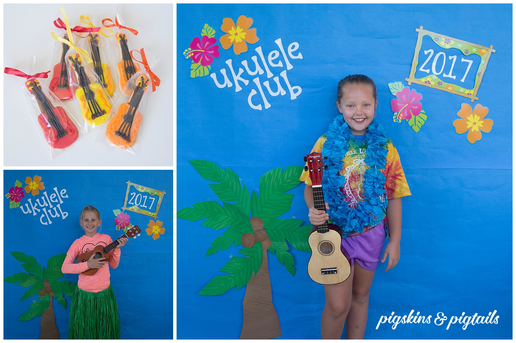 Ukulele Club Luau Party