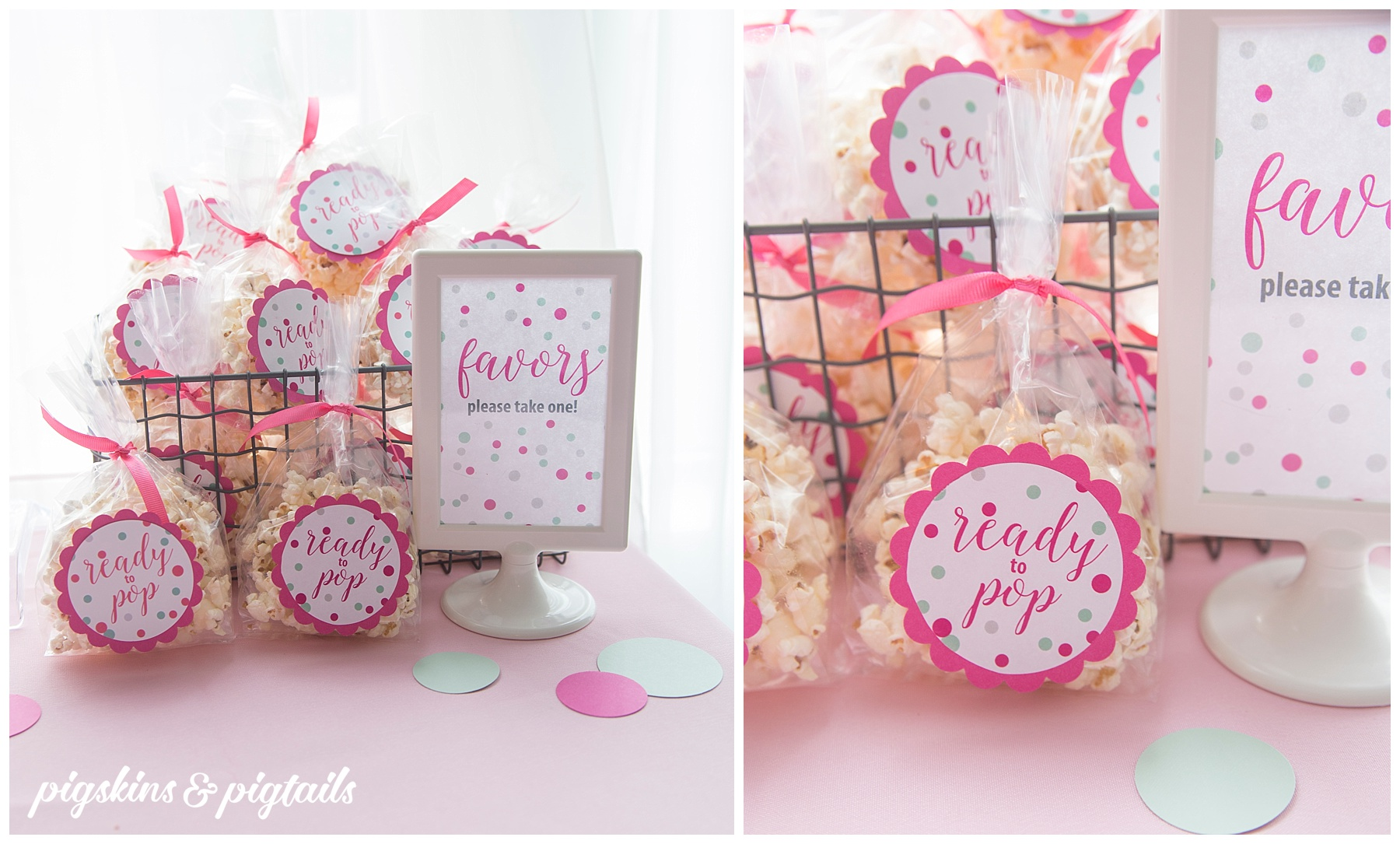 Ready to Pop Popcorn Party Favor