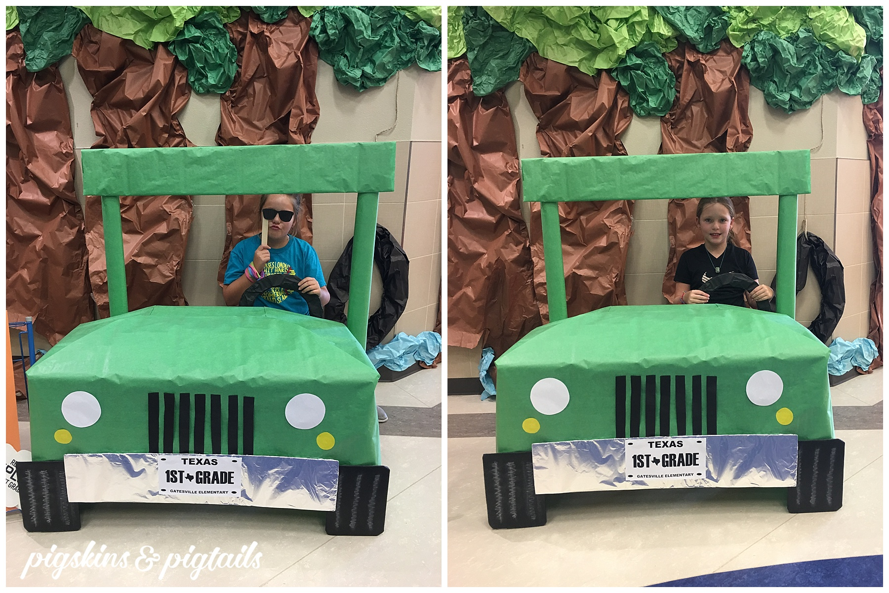 Jeep First Grade Photo Booth