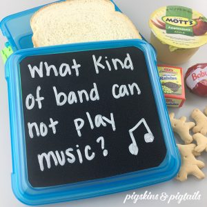 Make Your Own Lunchbox Chalkboards