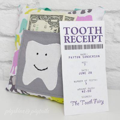 Tooth Fairy Printable Nationaltoothfairyday