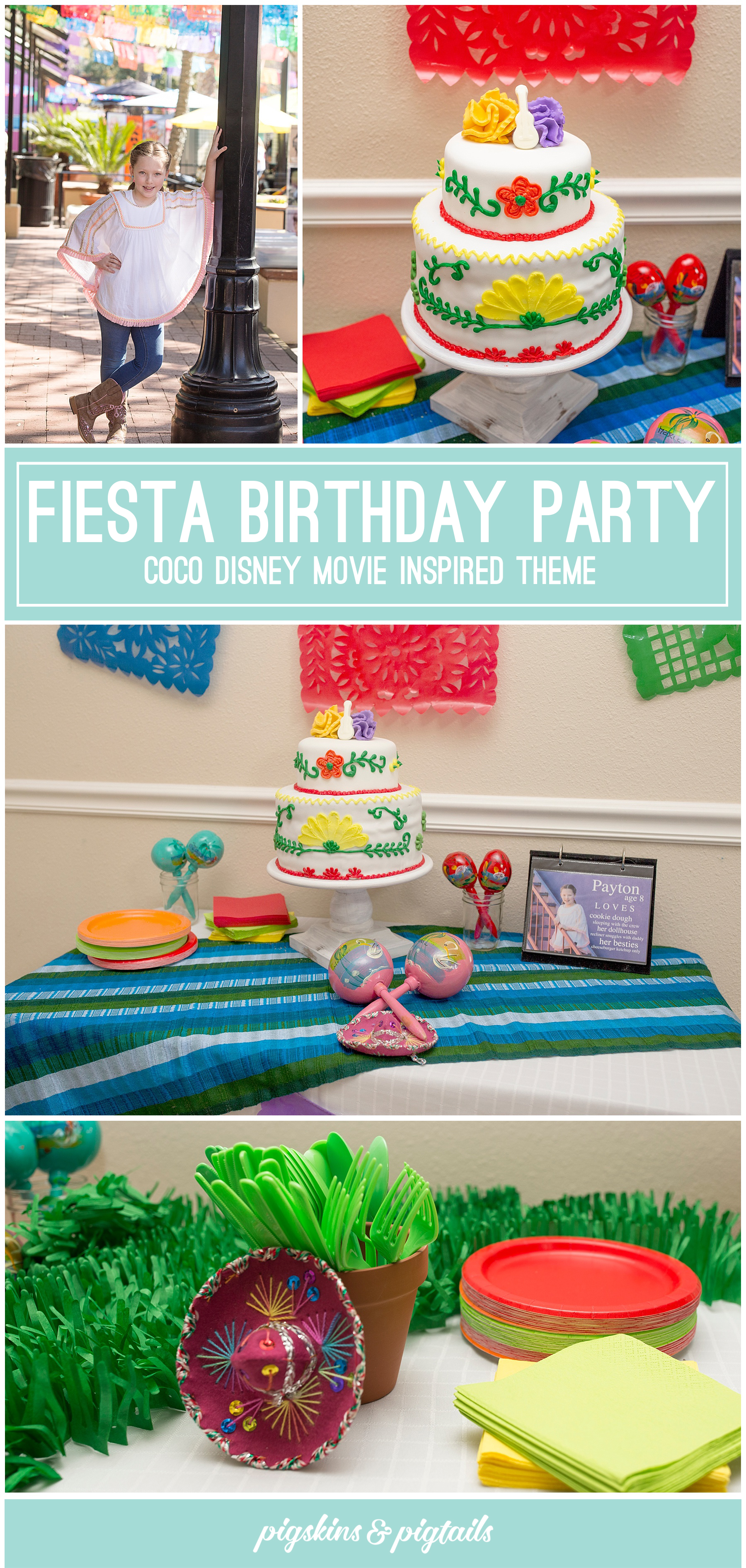 Coco Movie Theme Fiesta Birthday Party 8 Years Old