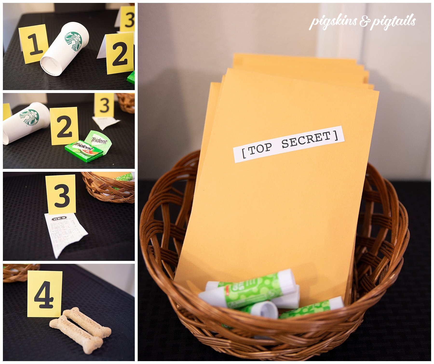 Mystery Game Instructions and Printables