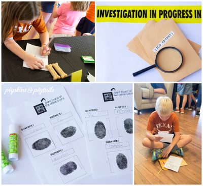 Mystery Birthday Party Activity with Instructions