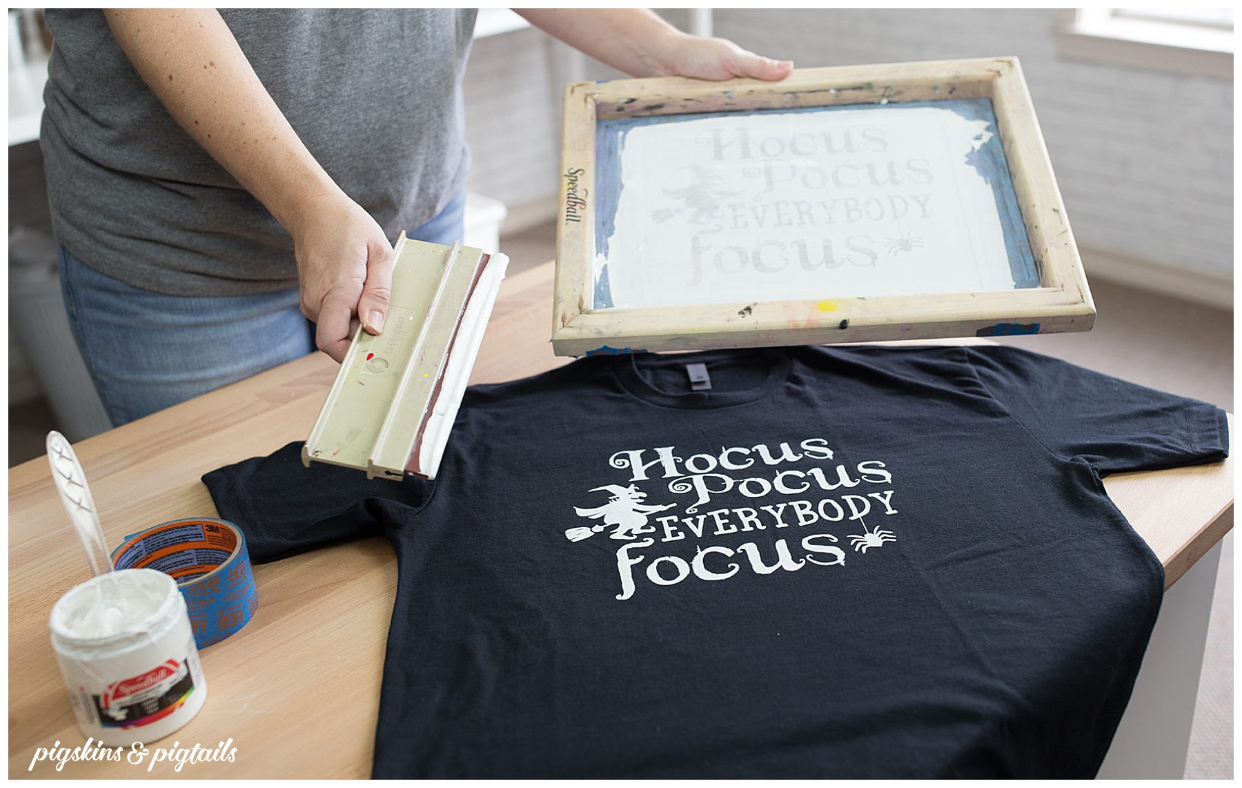 how to screen print vinyl cricut silhouette tutorial