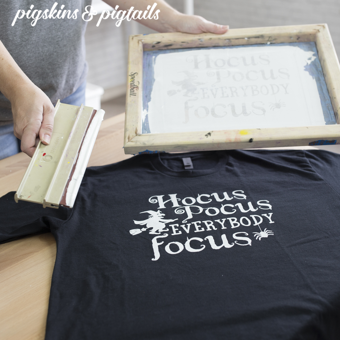 How to Screen Print Using Craft Vinyl
