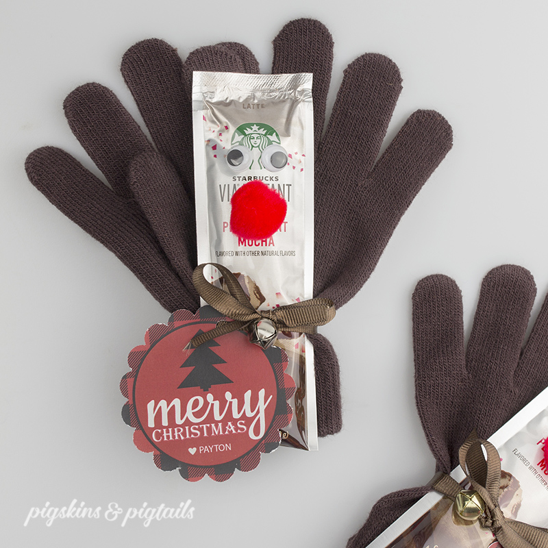 Rudolf Gloves Gift Idea