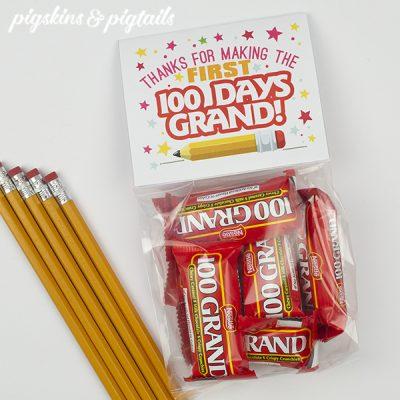 100th Day of School Teacher Gift Idea