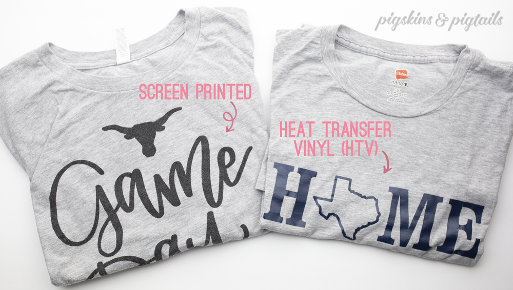 DIY Shirts HTV or Screen Printing