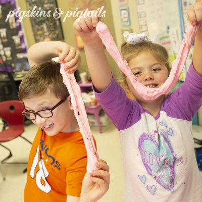 Valentine's Day Class Party Slime Activity