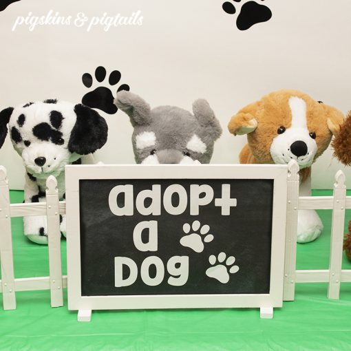 Adopt a Dog Printable Sign
