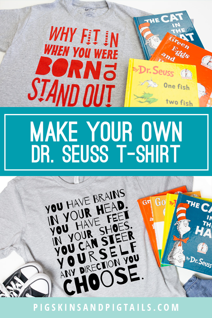 Make Your Own Dr. Seuss T-shirts