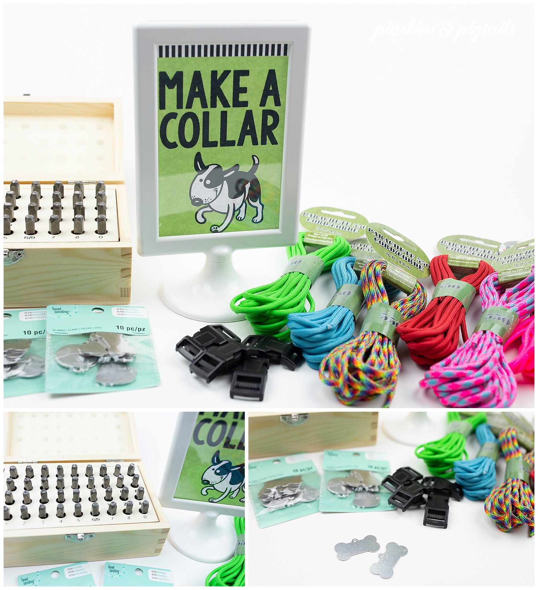 How to make a dog collar
