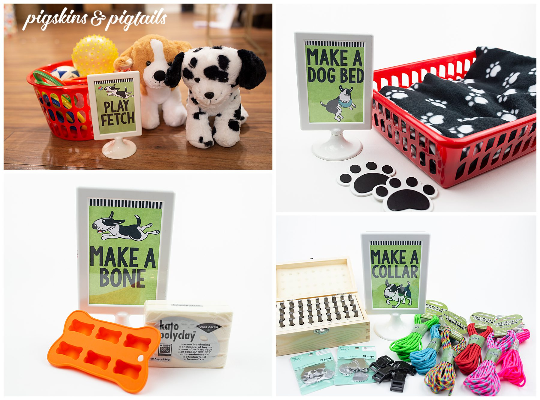 Dog Party Games and Crafts