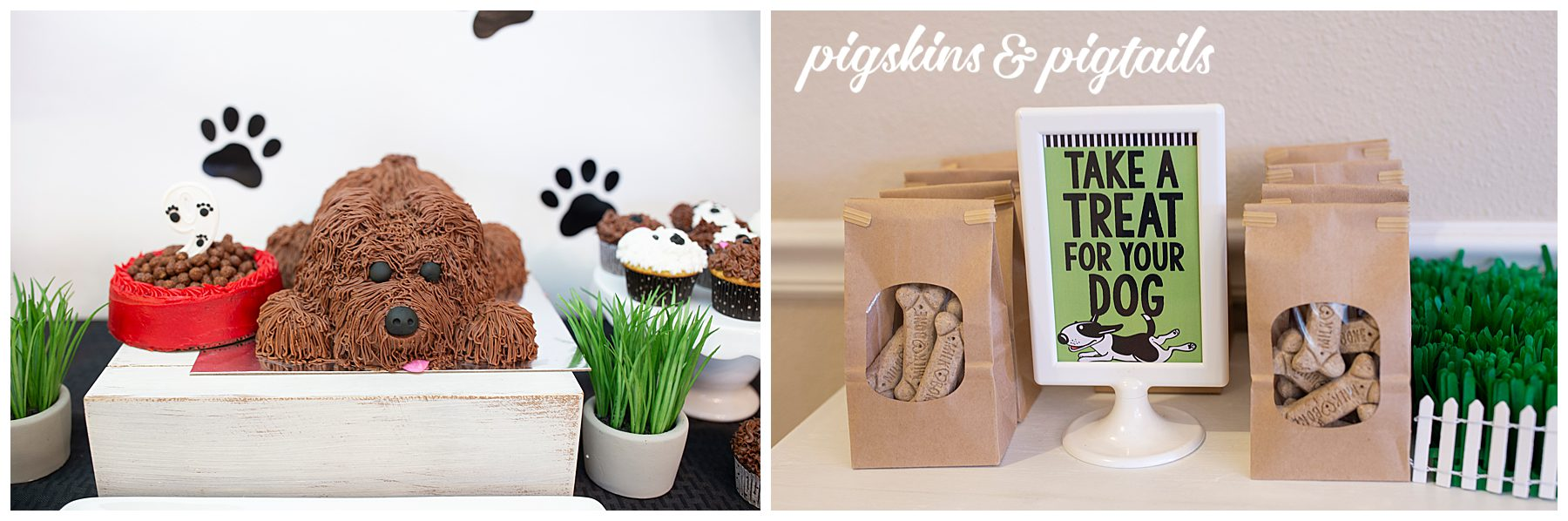 Dog Themed Birthday Party Treats