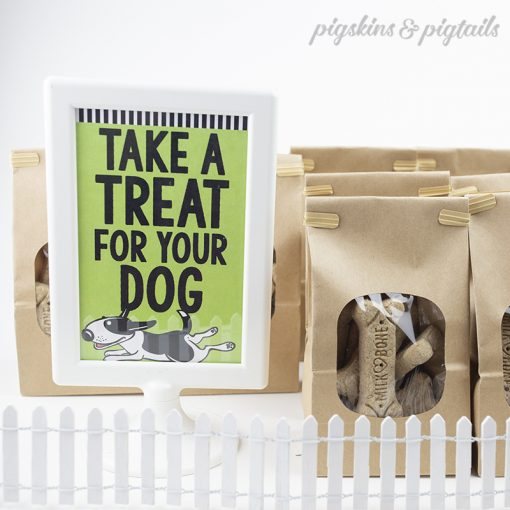 Take a Dog Treat Printable Sign
