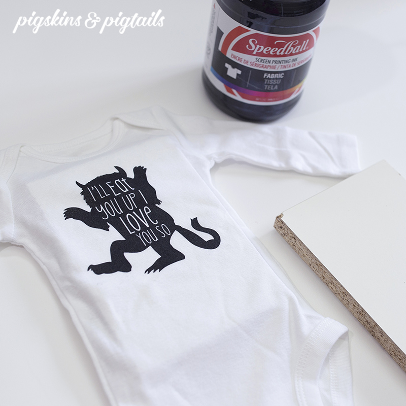 Tip for Screen Printing Onesies