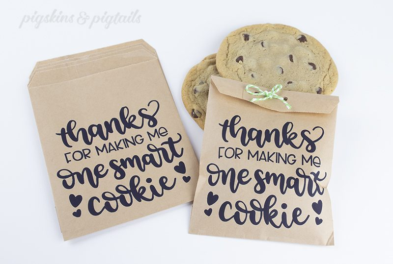 DIY Personalized Paper Bags with Screen Printing and Vinyl