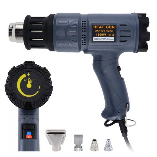 Heat gun for screen printing