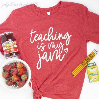 Teacher appreciation gift idea shirt for teachers