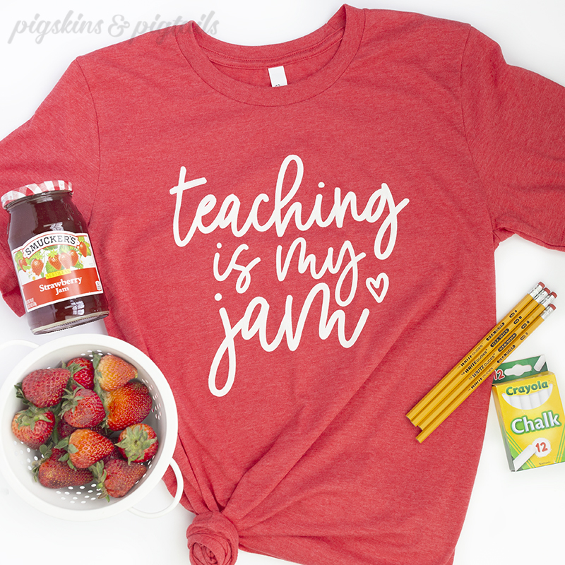 Teacher appreciation gift idea shirt for teachers