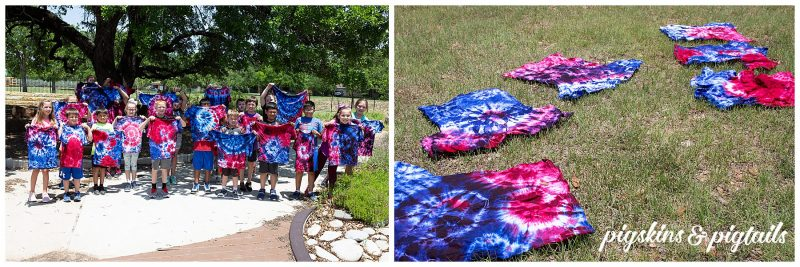 Tie dye shirts how to instructions