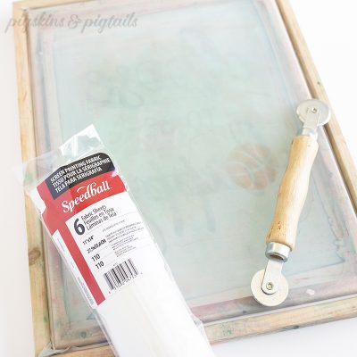 Speedball Screen printing frame fabric replace