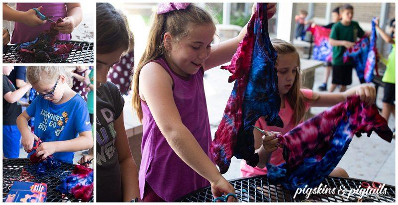 Tie Dye class party 3rd grade
