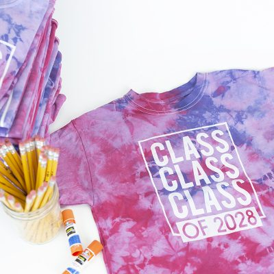 Tie dye class party ideas for elementary school