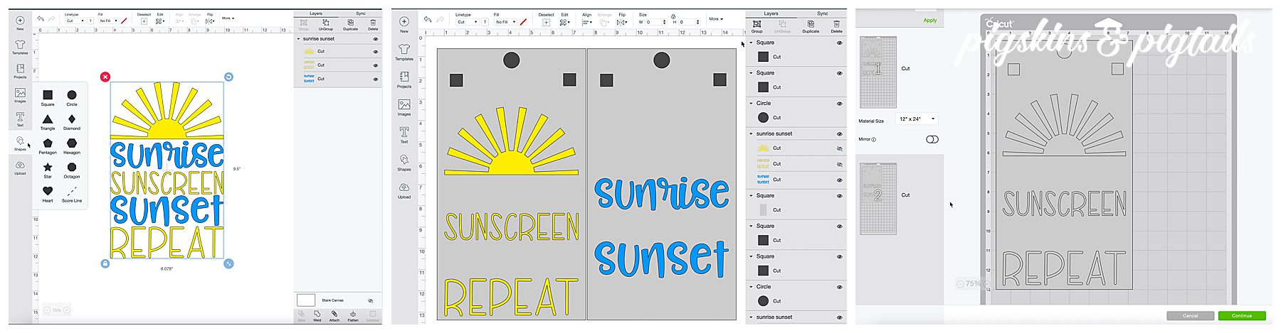 How to Screen Print 2 Color Designs with the Cricut Maker