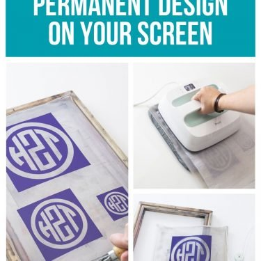 screen printing vinyl permanent design htv iron on