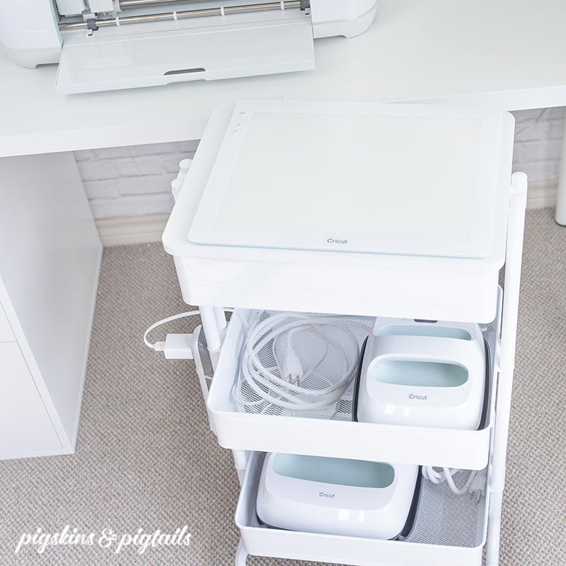 How to Organize Your Cricut Supplies