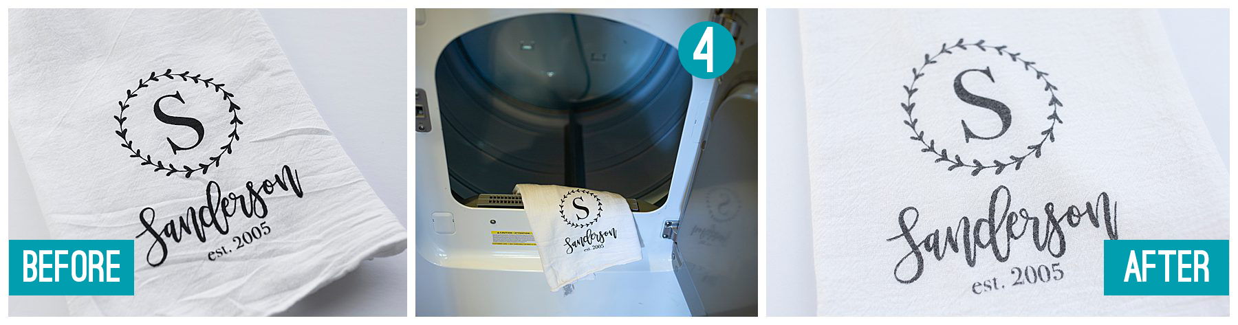 Can you heat set screen printing in in dryer