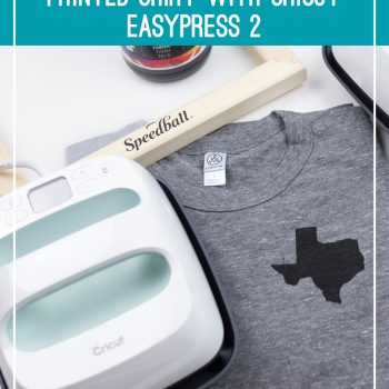 How to set screen printing ink with Cricut Easy Press 2