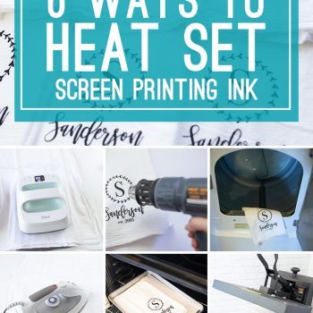 6 Ways to Heat Set Your Speedball Screen Printing Ink