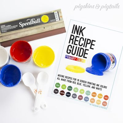Ink Recipe Guide Speedball Fabric Ink