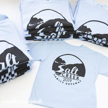 How to Make Family Reunion Shirts with Screen Printing