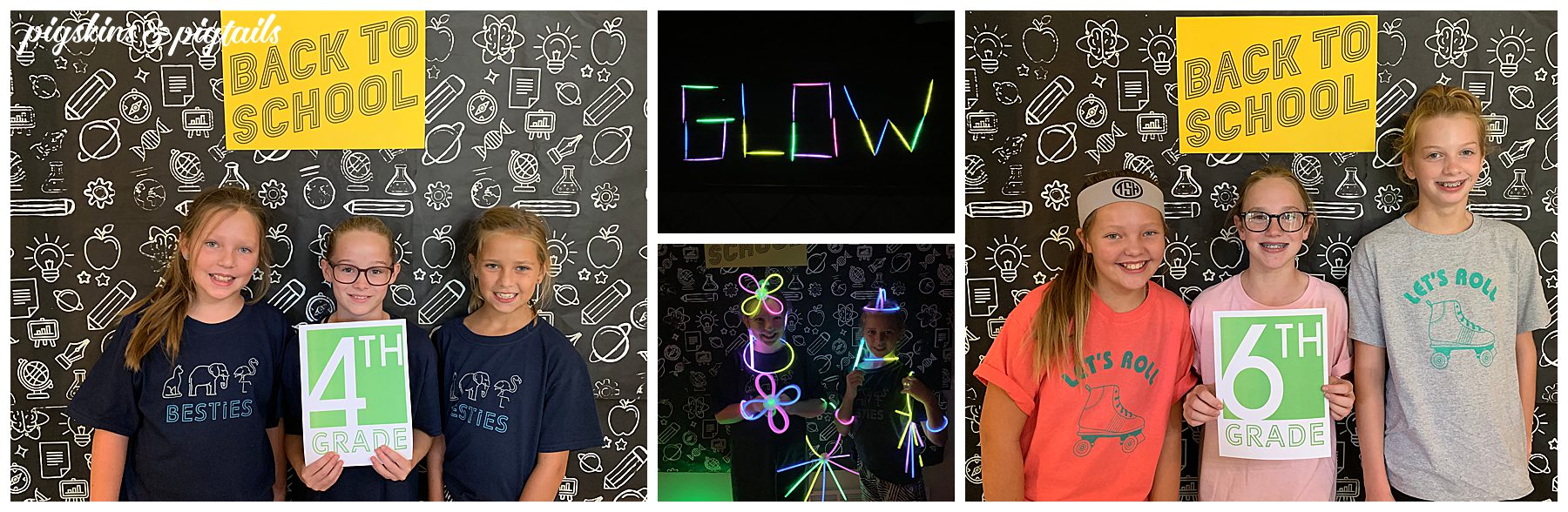 Back to school glow party celebrate summer