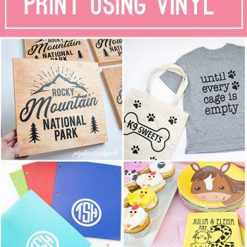 20 things screen print ideas cricut vinyl
