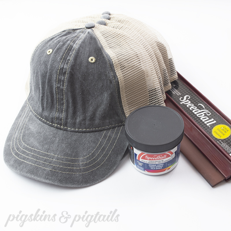 How to Screen Print on a Hat