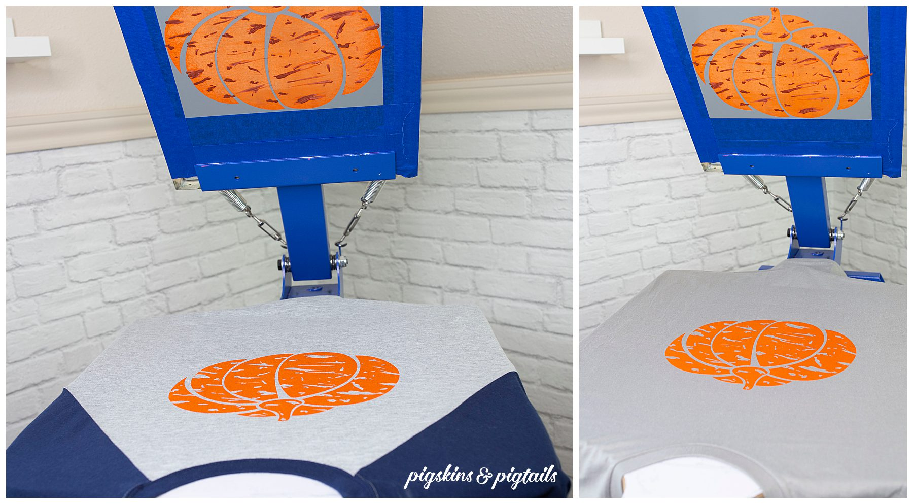 How to distress vinyl screen printing