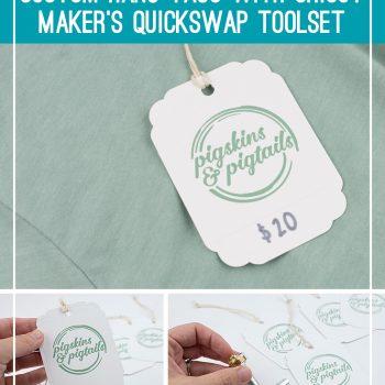 Quickswap tools maker hang tags